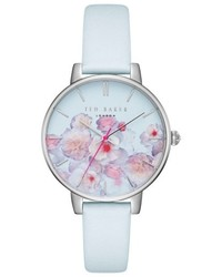 Ted Baker London Kate Leather Strap Watch 38mm