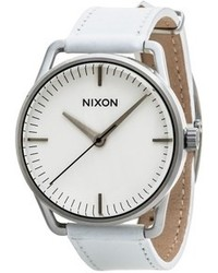 Nixon Mellor Watch Leather Band
