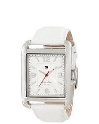 Tommy Hilfiger White Leather Ladies Watch 1781197