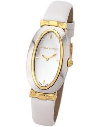 Nina Ricci White Leather Watch