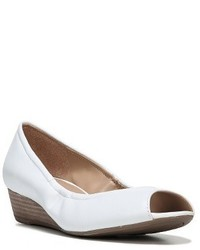 Contrast peep toe wedge medium 3722223