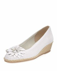 M floral wedge espadrille white medium 3722224