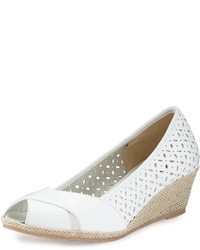 Mersey laser cut wedge pump white medium 735875
