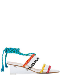 Braided wedge sandals medium 4345690