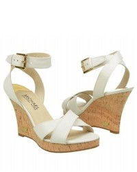 7553b7f7cee3 Michl Michl Kors Elena Leather Wedge Sandal Optic White Out of stock · MICHAEL  Michael Kors Michl Michl Kors Kami Ankle Strap