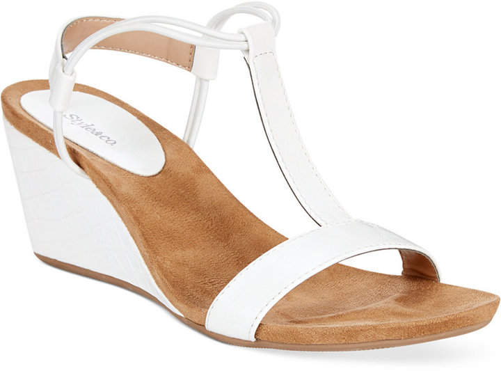 da64e9564d8 Style co. Style Co Mulan Wedge Sandals Only At Macys Shoes