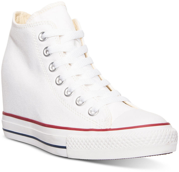 converse wedge sneakers. wedge sneakers converse chuck taylor lux casual from finish line