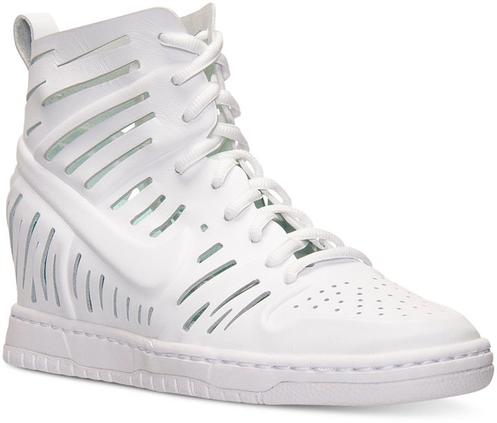 ad205b98e01 ... Nike Dunk Sky Hi Joli Casual Sneakers From Finish Line ...