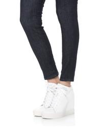 DKNY Ginnie Wedge Sneakers, $225