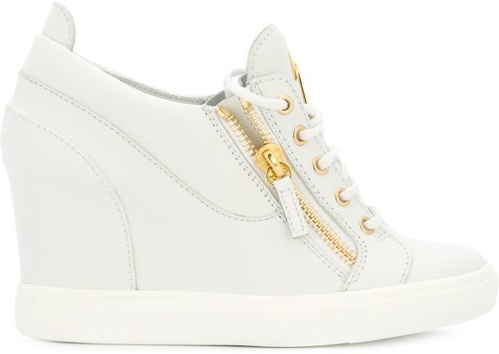 ... Giuseppe Zanotti Design Sonya Wedge Sneakers