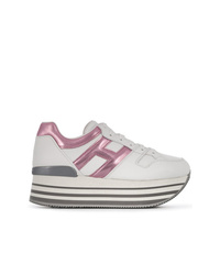 Hogan Logo Lace Up Sneakers