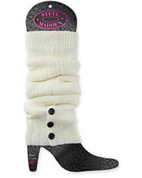 Button cuff ribbed leg warmers medium 83359