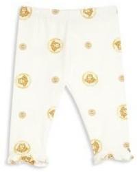 Versace Babys Allover Medusa Logo Print Leggings