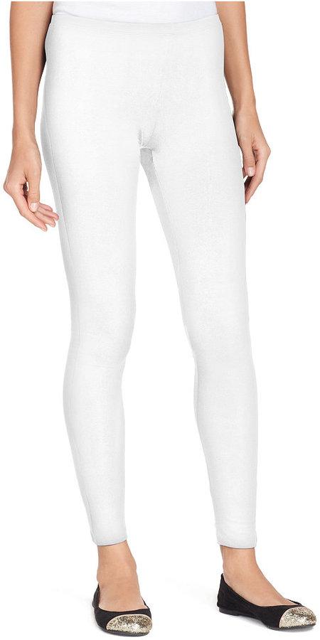 71bb465e4d058 Hue Cotton Leggings A Macys, $25 | Macy's | Lookastic.com