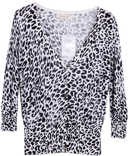 ChicNova Leopard Print Cardigan With 34 Sleeves | Where to buy ...