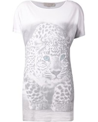 Stella mccartney leopard print t shirt medium 322284