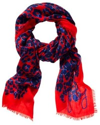 Express Foiled Leopard Oblong Scarf Where to buy amp how