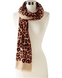 Leopard scarf medium 6516