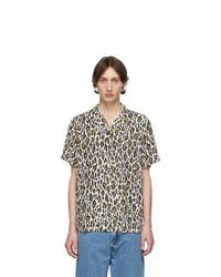 White Leopard Short Sleeve Shirt