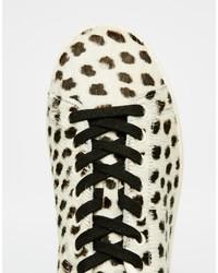 da845a652d9ba ... adidas Originals Stan Smith Pony Effect Leopard Sneakers S75117 ...