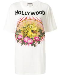 Gucci Leopard Motif T Shirt