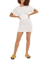 Corset cup t shirt dress medium 4950366