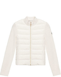 Moncler Puffer Front Tricot Jacket Size 8 14