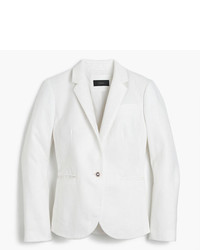 Petite campbell blazer in linen medium 3674207
