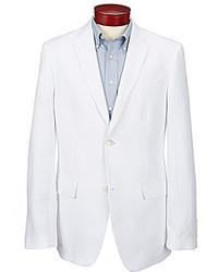 Perry Ellis Solid Linen Blend Jacket