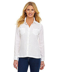 Palisades linen shirt medium 72240