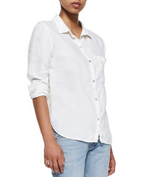 Rag and Bone Rag Bonejean Perfect Linen Cotton Shirt