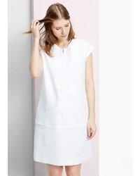 Violeta BY MANGO Zip Linen Dress