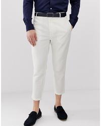 White Linen Chinos