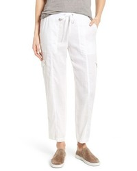 Eileen Fisher Linen Cargo Pants
