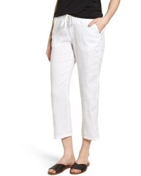 Linen crop pants medium 3662410