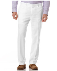 White Linen Dress Pants