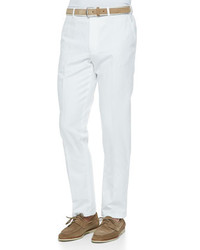 Four pocket cottonlinen pants white medium 181185