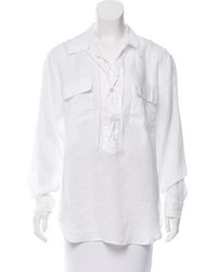 Linen knox blouse w tags medium 3718764