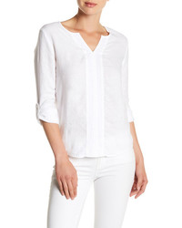 Yana long sleeve linen blouse medium 3718763