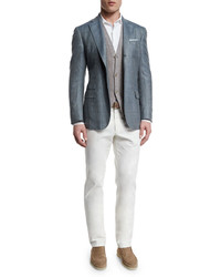 3c9a5c82e Men's White Shirts by Loro Piana | Men's Fashion | Lookastic.com