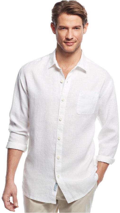 833e27e3a68e8 ... Tommy Bahama Big Tall Sea Glass Breezer Linen Shirt ...