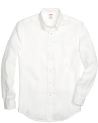 Brooks Brothers Madison Fit Linen Sport Shirt
