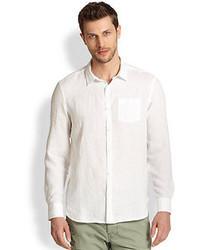 True Religion Linen Pocket Sportshirt