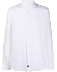 Fay Regular Fit Linen Shirt
