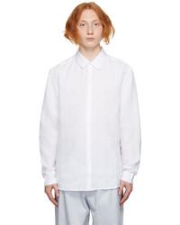 COMMAS White Linen Shirt
