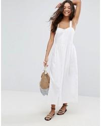 Asos Linen Maxi Dress