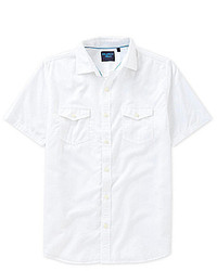 Caribbean Short Sleeve Solid Caribbean Blues Shirt