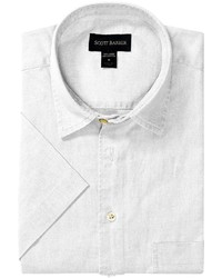 Scott Barber Charles Camp Shirt Spread Collar Short Sleeve