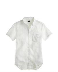 Short sleeve irish linen shirt medium 267842