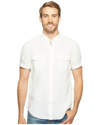 Timberland Short Sleeve Mill River Linen Cargo Shirt Clothing